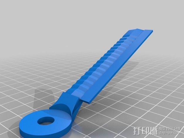 耳机杆HD 25 II 3D模型  图9