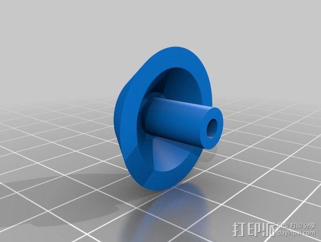 耳机杆HD 25 II 3D模型  图11