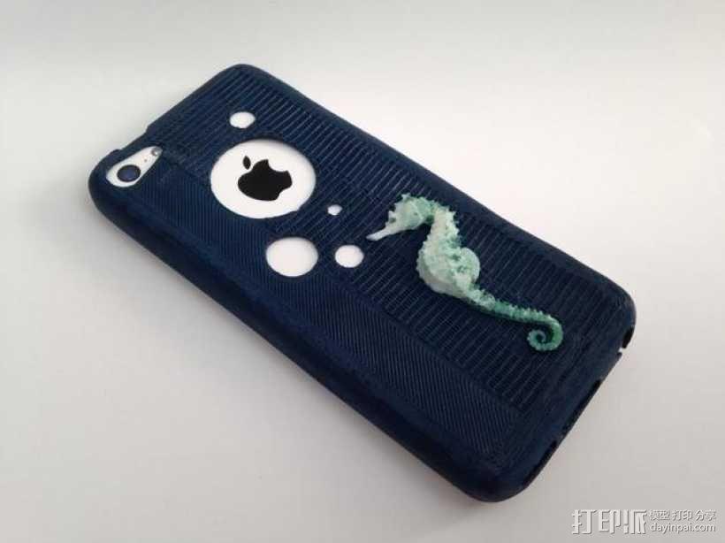 改进版 iPhone 5c手机套 3D模型  图1