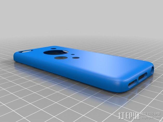 改进版 iPhone 5c手机套 3D模型  图3