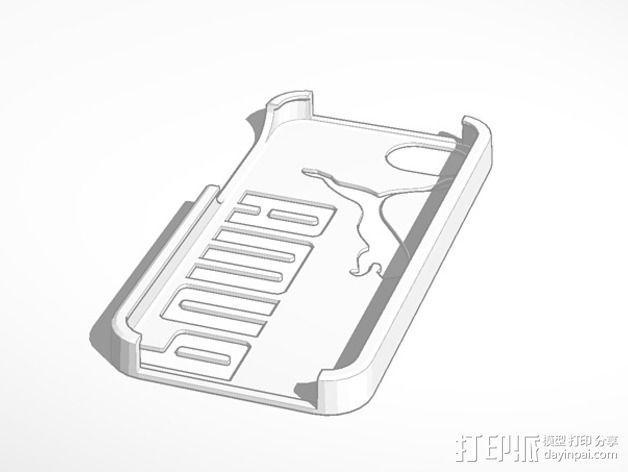 彪马Iphone 5 手机套 3D模型  图1