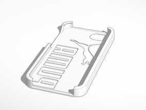 彪马Iphone 5 手机套 3D模型