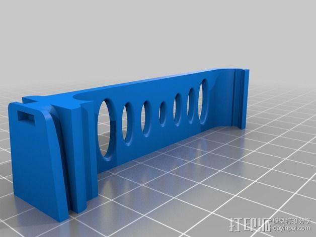 Lumia 1020对Jobi Gorillapod的适配器 3D模型  图2