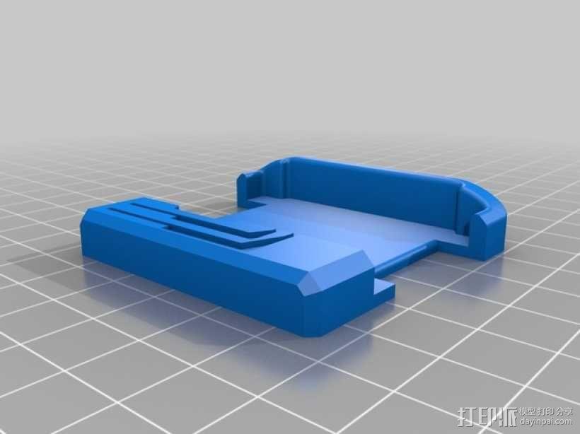 智能腕带充电座 3D模型  图4
