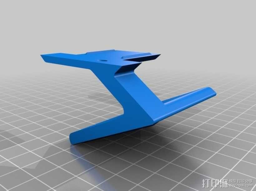智能腕带充电座 3D模型  图3