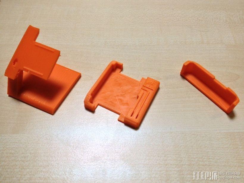 智能腕带充电座 3D模型  图5