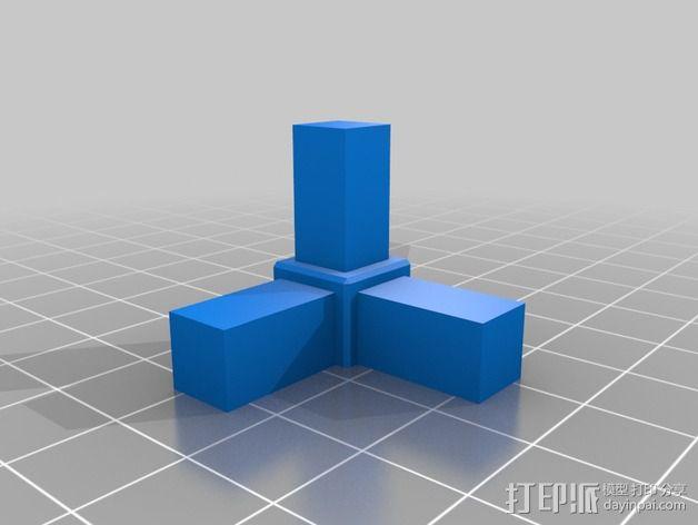 Mining RIG铝制外框 3D模型  图2