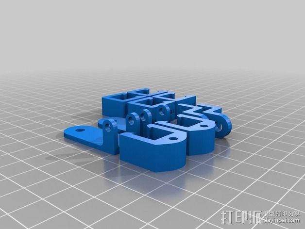 Mining RIG铝制外框 3D模型  图5