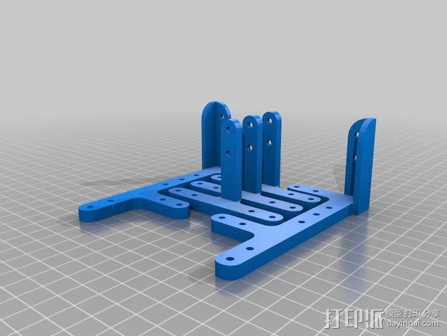 Mining RIG铝制外框 3D模型  图6