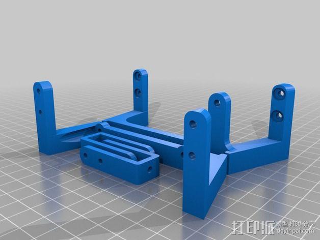 Mining RIG铝制外框 3D模型  图7