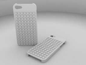 乐高 iphone 5/5s 手机套 3D模型