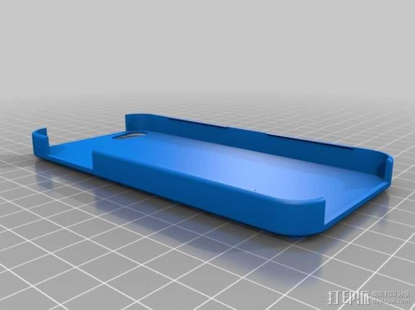 乐高 iphone 5/5s 手机套 3D模型  图2