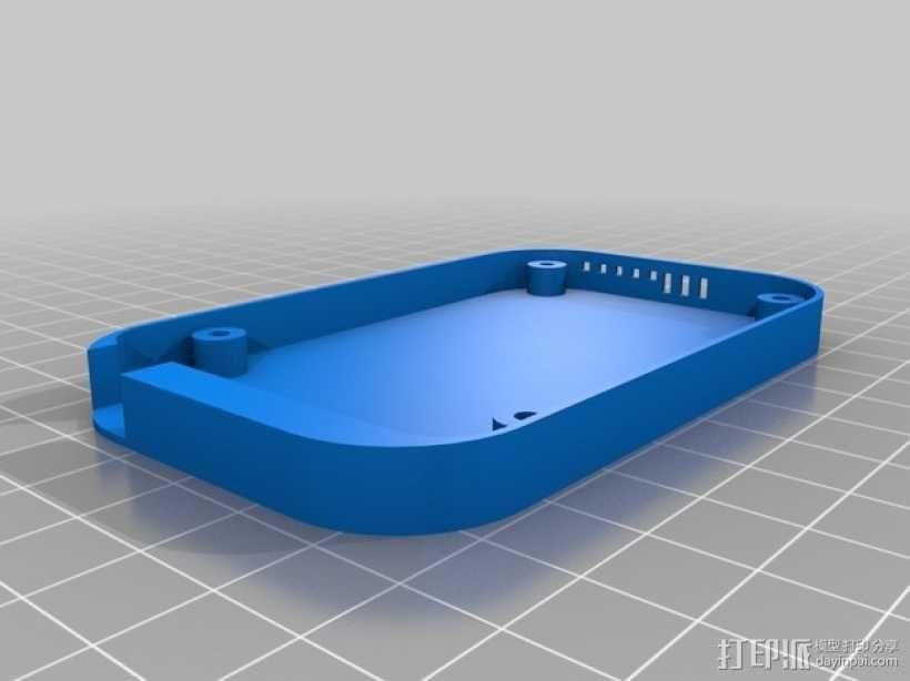 Beaglebone Black 保护套 3D模型  图1