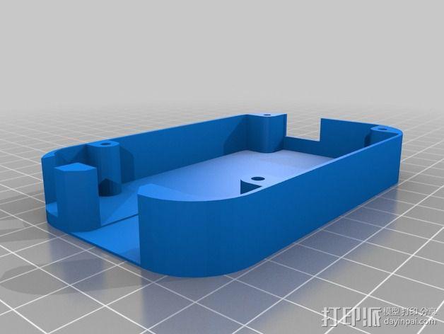 Beaglebone Black 保护套 3D模型  图2