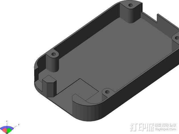 Beaglebone Black 保护套 3D模型  图4