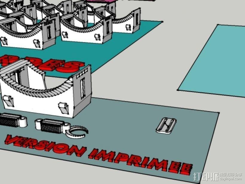 虚拟现实眼镜 3D模型  图6