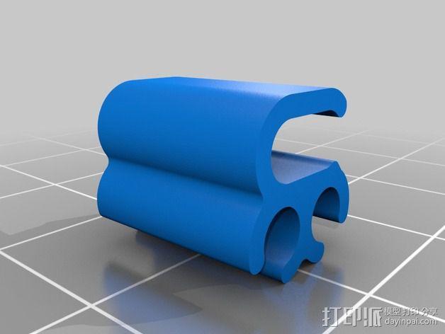 线夹 导线器 3D模型  图2