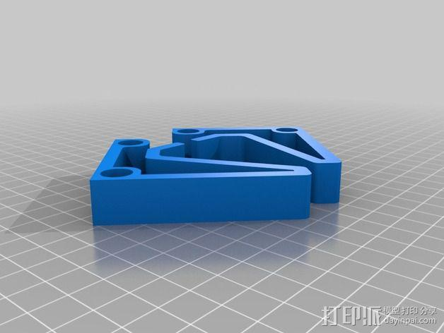 简单时尚的手机站架 3D模型  图3