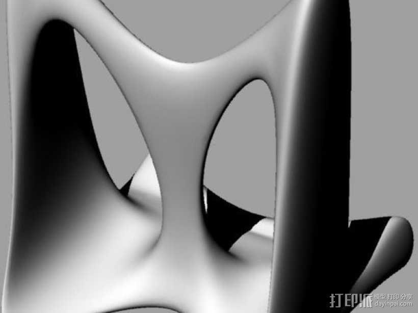 手机站架 3D模型  图4