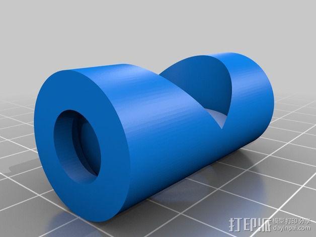 可调整式平板站架 3D模型  图9