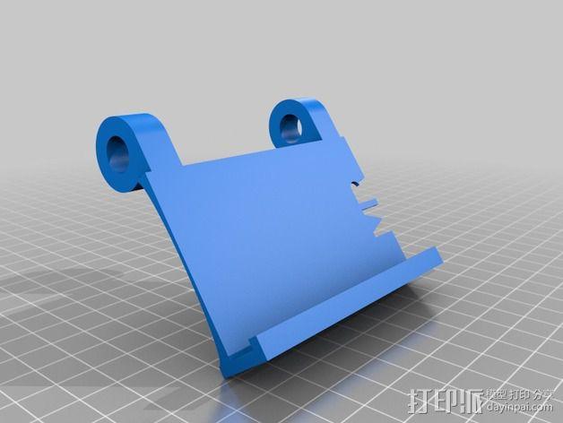 可调整式平板站架 3D模型  图12