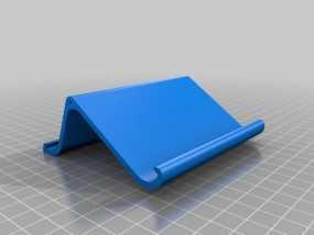 双面iPad站架 3D模型