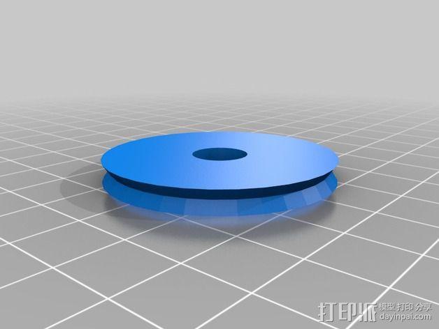 可旋转 相机支撑架 3D模型  图2