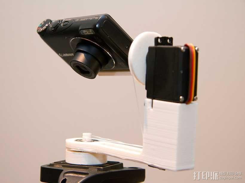 可旋转 相机支撑架 3D模型  图1