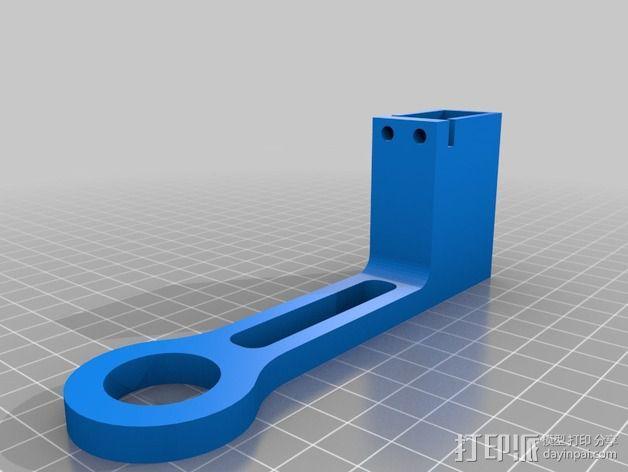 可旋转 相机支撑架 3D模型  图4