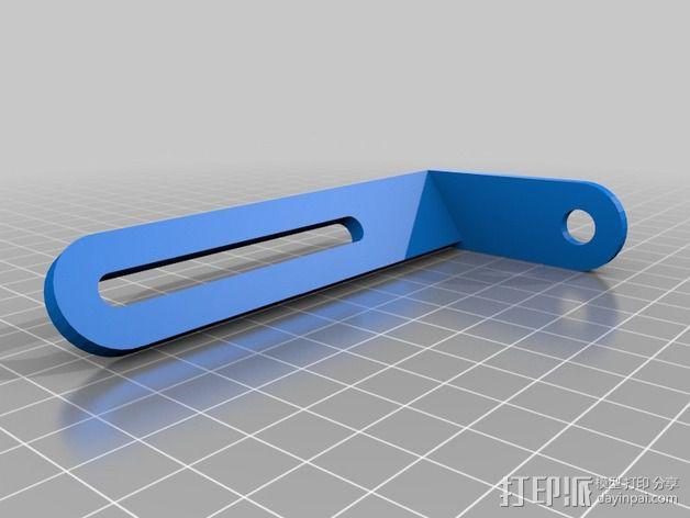 可旋转 相机支撑架 3D模型  图6