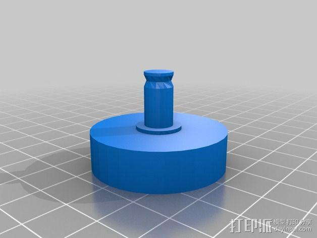 可旋转 相机支撑架 3D模型  图5