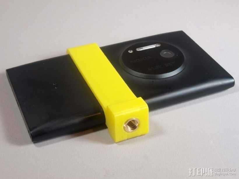 Nokia Lumia 1020三脚架 3D模型  图1