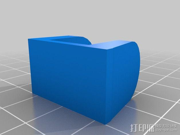 树莓派照相机支架 3D模型  图4