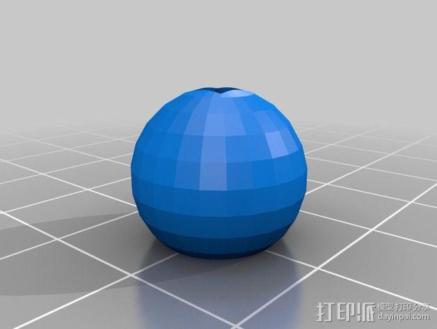 树莓派照相机支架 3D模型  图5