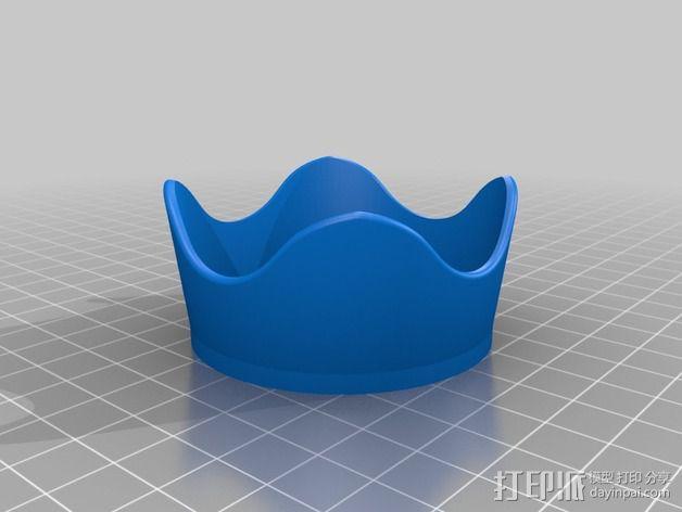尼康相机镜头罩  3D模型  图1