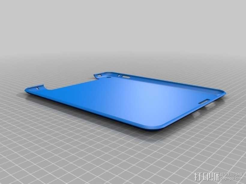 iPad 2,3,4保护套 3D模型  图1