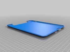 iPad 2,3,4保护套 3D模型