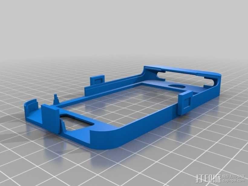 Iphone4 替换式手机套 3D模型  图1