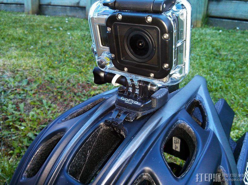 相机脚架 相机座 3D模型  图1