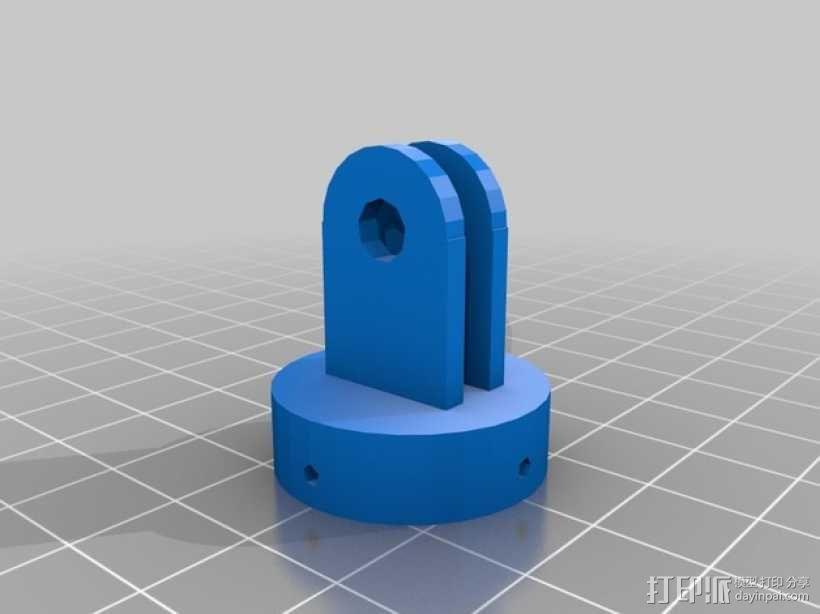 GoPro相机座 3D模型  图4