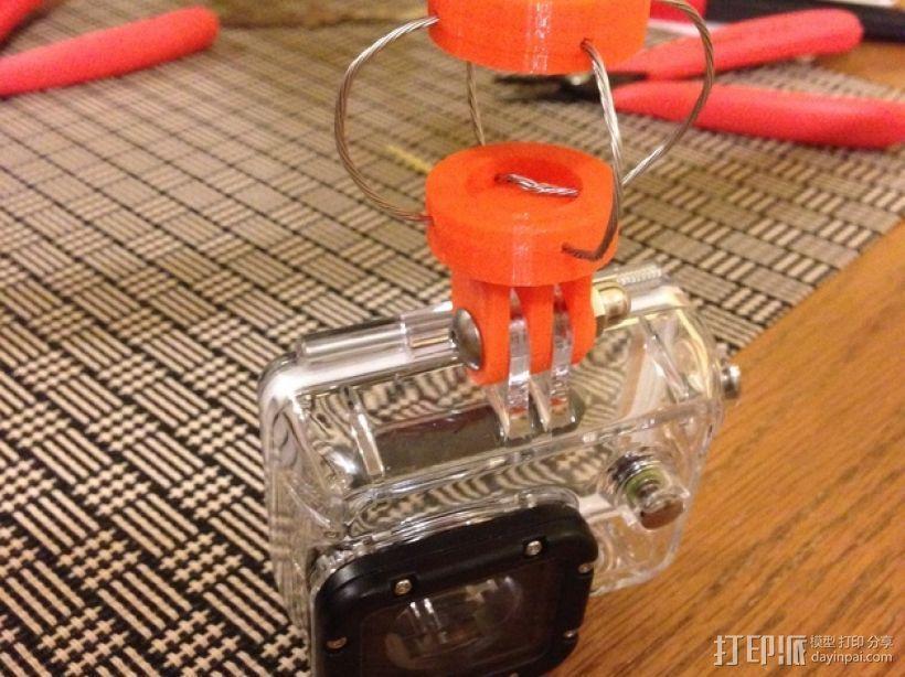 GoPro相机座 3D模型  图6