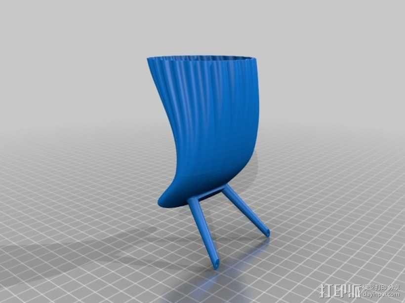 手机喇叭扬声器 3D模型  图2
