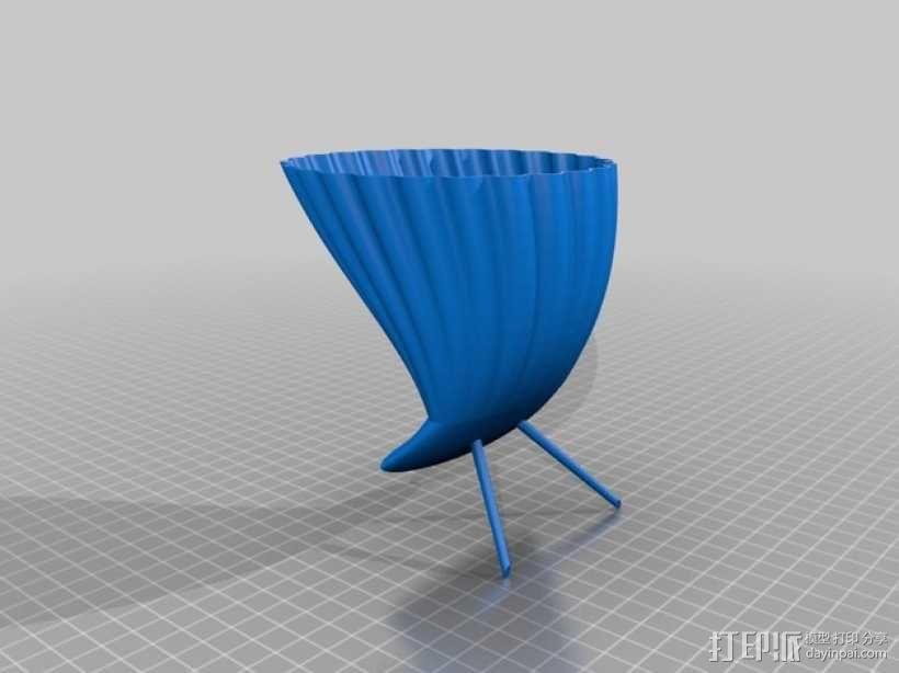 手机喇叭扬声器 3D模型  图4