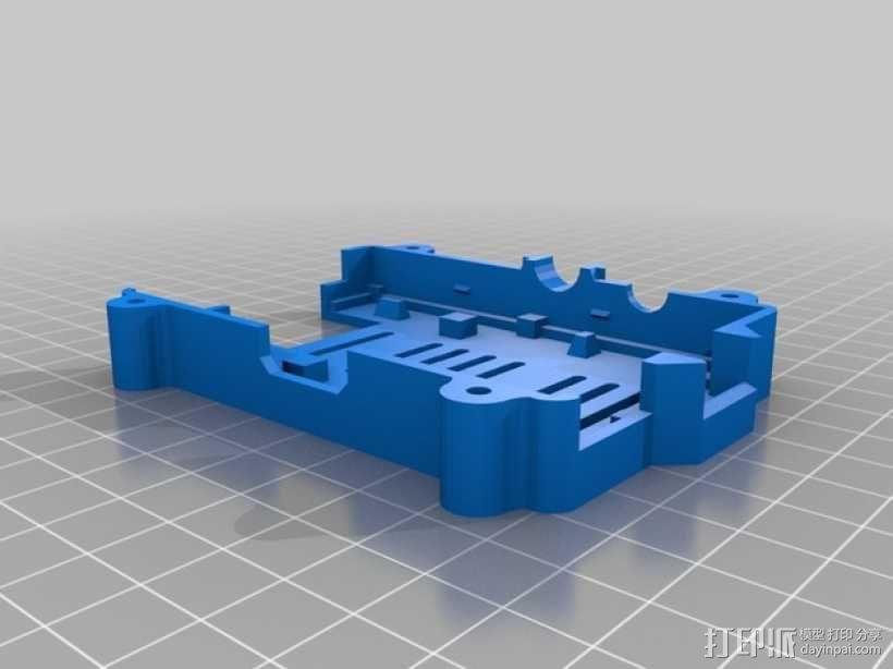 安全的树莓派保护套 3D模型  图2