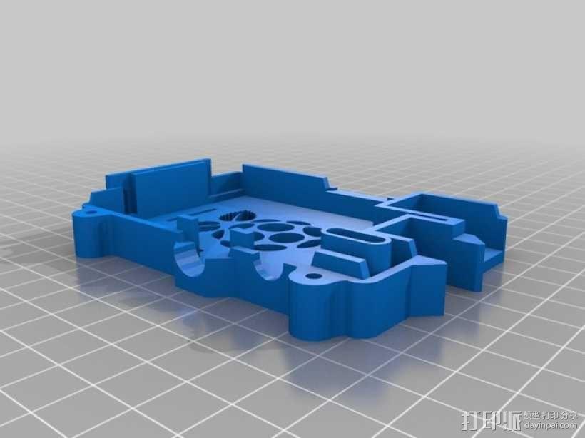 安全的树莓派保护套 3D模型  图3