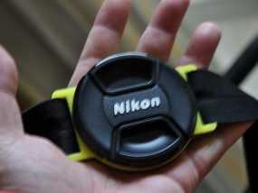 相机镜头盖盖扣 3D模型