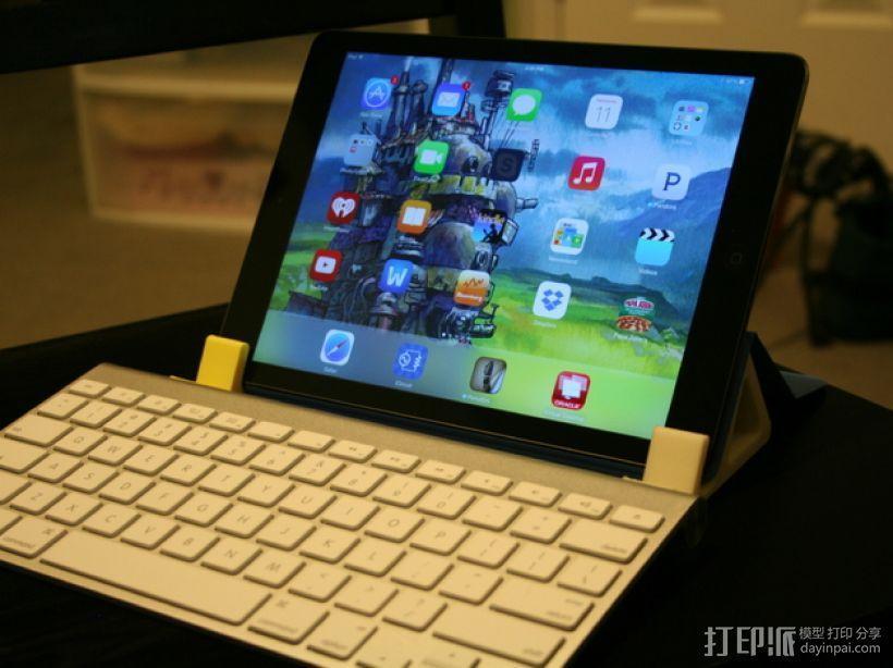 iPad键盘站架 3D模型  图3