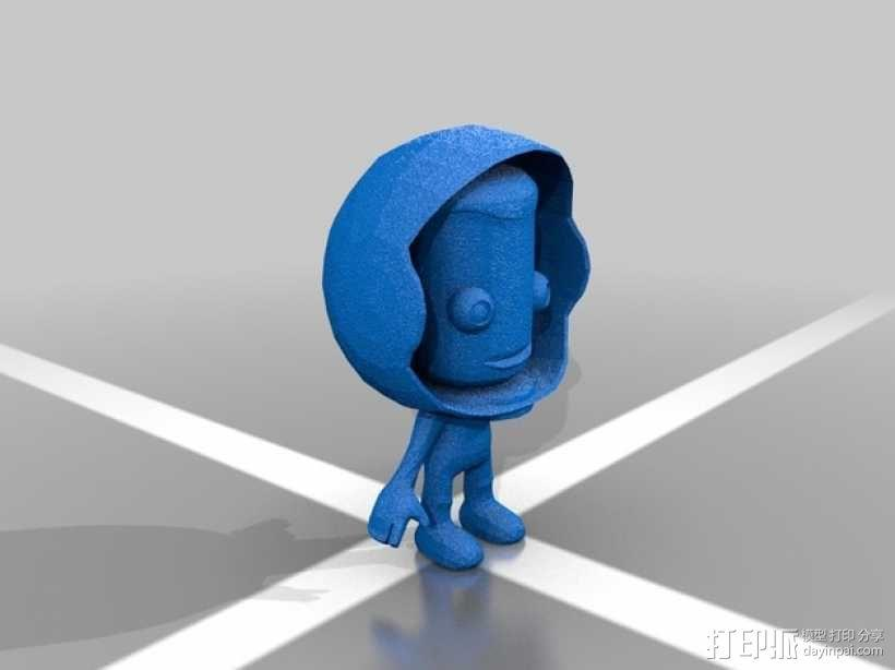 Kerbal坎巴拉人物模型 3D模型  图2