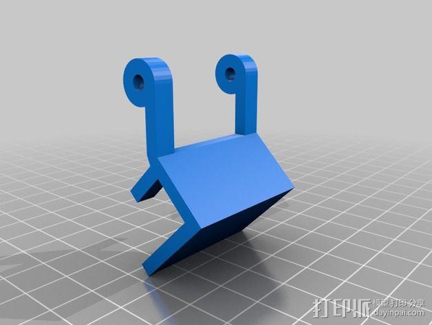 游戏机手柄 手机支架 3D模型  图3