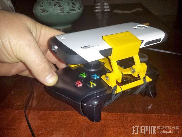 游戏机手柄 手机支架 3D模型  图5